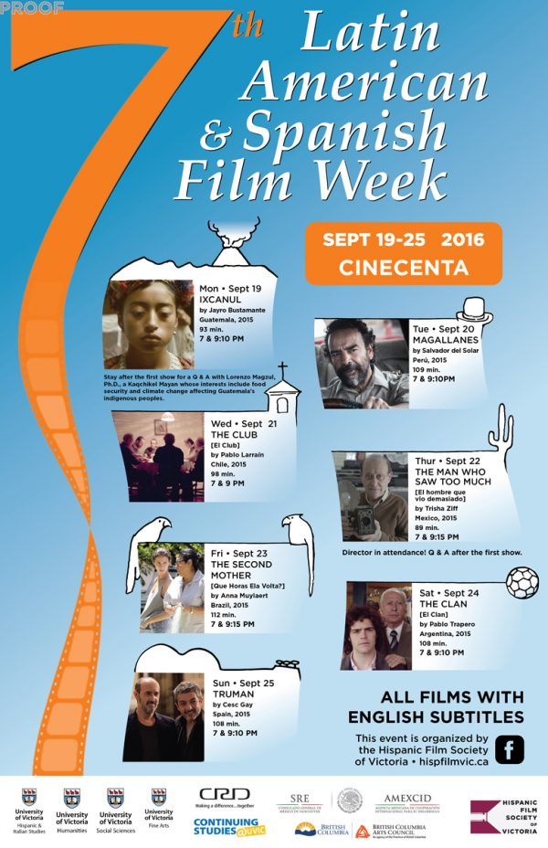 7th Latin American and Spanish Film Week